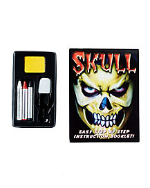 Skull Face Theatrical FX Makeup Kit