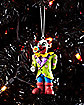 Bad Clown Christmas Ornament