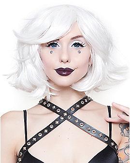 Hologram White Wig