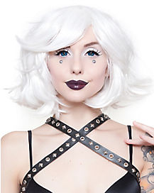 Hologram White Wig