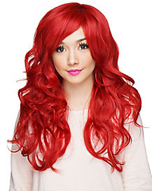 Red Curly Wig