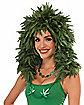 Cannabis Leaf Wig