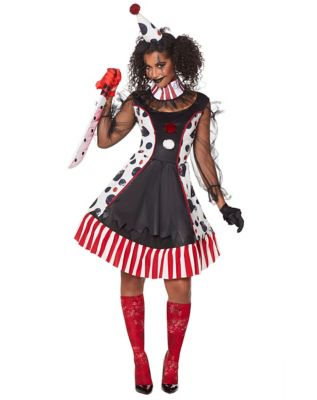 Adult Twisted Clown Costume