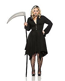 Adult Grim Reaper Dress Plus Size Costume