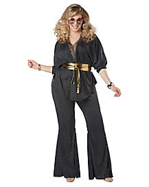 Adult Disco Dazzler Plus Size Costume