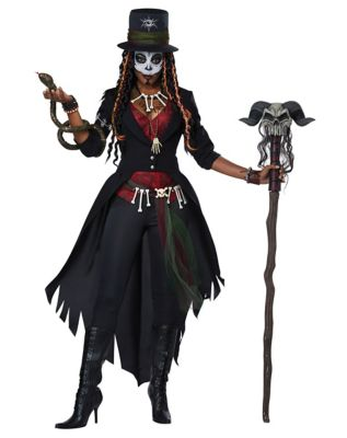 Womens Adult Magic Voodoo Costume