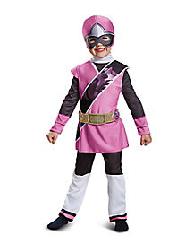 Toddler Pink Ranger Costume - Power Rangers Ninja Steel