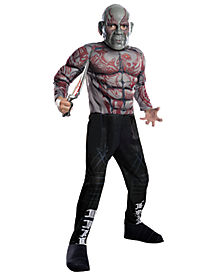 Kids Drax Costume - Gaurdians of the Galaxy