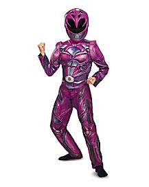 Tween Pink Ranger Costume Deluxe - Power Rangers
