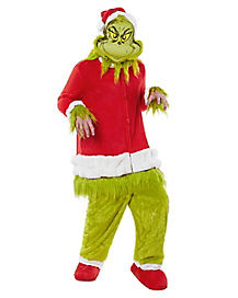 Adult How The Grinch Stole Christmas Costume - Dr. Seuss