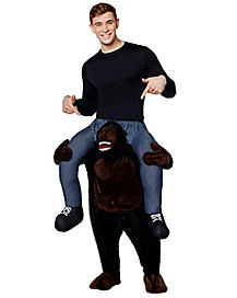 Adult Piggyback Gorilla Costume