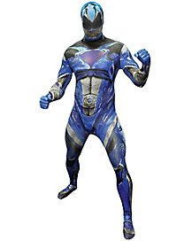 Adult Blue Ranger Skin Suit Costume - Power Rangers