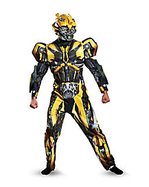 Adult Bumblebee Costume Deluxe - Transformers