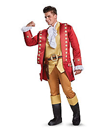 Adult Gaston Costume Deluxe - Beauty and the Beast Movie