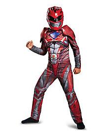 Kids Red Ranger Costume - Power Rangers