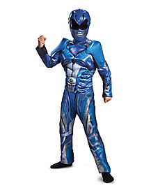 Kids Blue Ranger Costume - Power Rangers