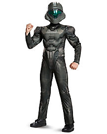 Kids Edward Buck Costume - Halo