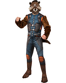 Adult Rocket Raccoon Costume - Guardians of the Galaxy