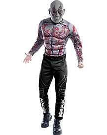 Adult Drax the Destroyer Costume Deluxe - Guardians of the Galaxy