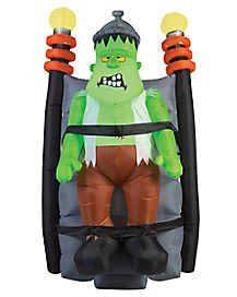 6 Ft Short Circuit Monster Inflatable