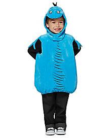 Toddler Blue Fish Costume - Dr. Seuss
