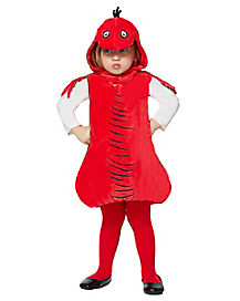 Toddler Red Fish Costume - Dr. Seuss