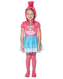 Toddler Poppy Hooded Dress Costume - Trolls