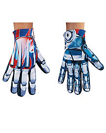 Kids Optimus Prime Gloves - Transformers