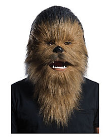 Faux Fur Chewbacca Mask - Star Wars