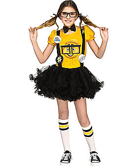 Kids Nerd Emoji Costume - The Emoji Movie