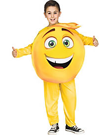 Kids Gene Emoji Costume - The Emoji Movie