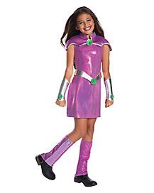 Kids Starfire Costume - DC Superhero Girls