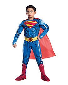 Kids Superman Costume Deluxe - DC Comics