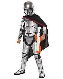 Kids Captain Phasma Costume Deluxe - Star Wars