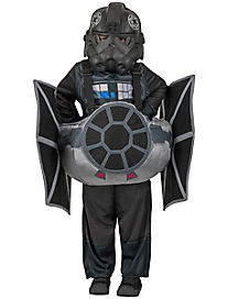 Kids Ride-In TIE Fighter Costume - Star Wars