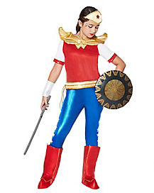 Kids Wonder Woman Costume The Signature Collection - DC Super Hero Girls