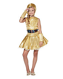 Kids C-3PO Costume The Signature Collection - Star Wars