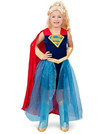 Kids Formal Supergirl Dress The Signature Collection - DC Super Hero Girls