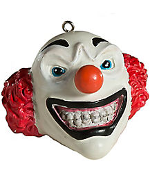 Clown Head Christmas Ornament