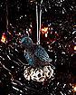 Raven Skull Christmas Ornament