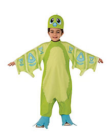 Kids Green Draggles Costume – Hatchimals
