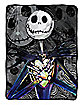 Dark Creep Jack Skellington Fleece Blanket - The Nightmare Before Christmas