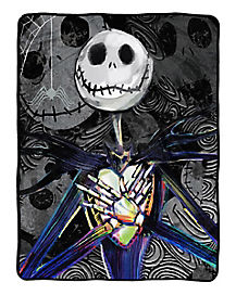 Dark Creep Jack Skellington Fleece Blanket - The Nightmare Before Christmas