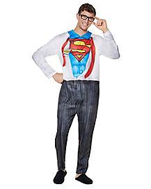 Clark Kent Pajama Costume - DC Comics