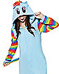 Rainbow Dash Pajama Costume - My Little Pony