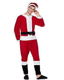 Santa Pajama Costume