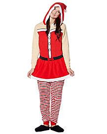 Ms. Claus Pajama Costume