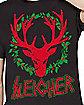 Sleigher Ugly Christmas T Shirt