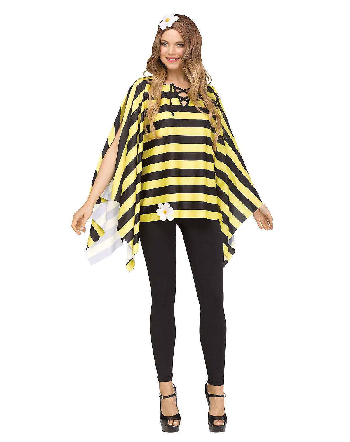 Bumble bee poncho