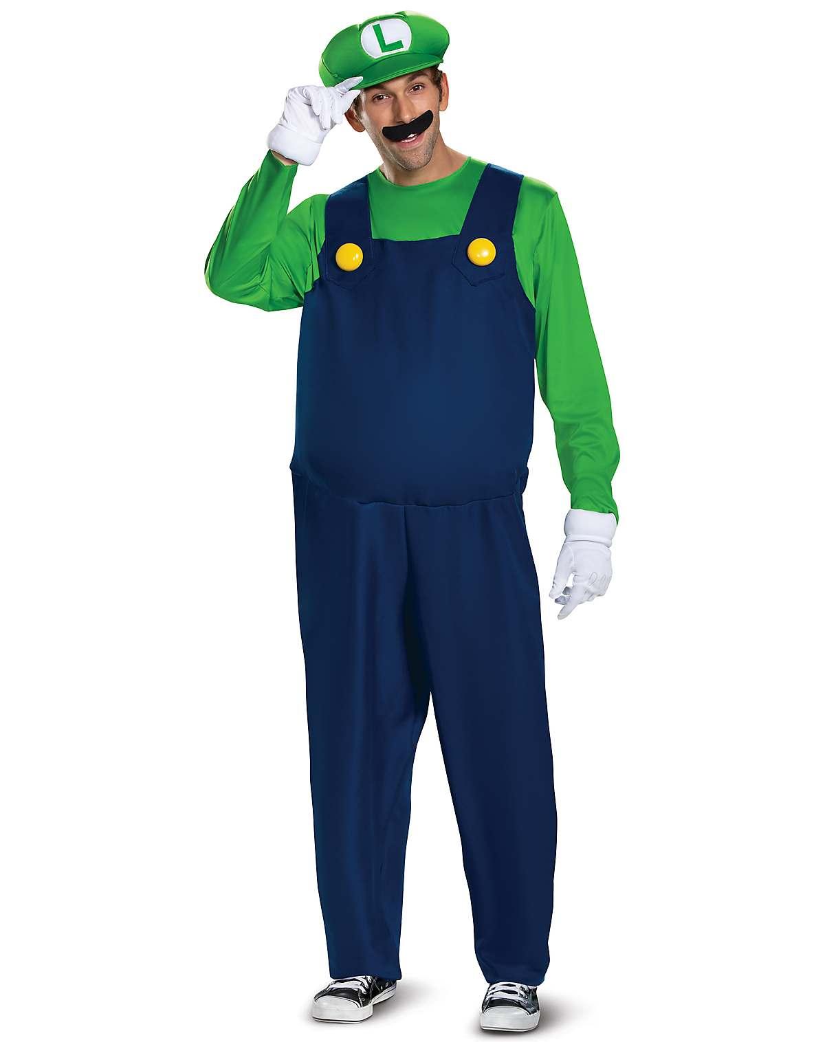 Plus size Luigi costume - Super Mario Bros.